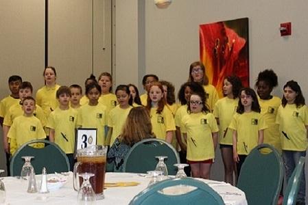 Hanson's Inspire Choir entertains Rotary