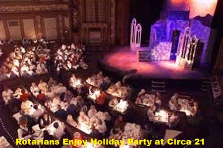 Rotarians Celebrate the Holidays at Circa 21