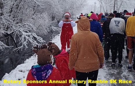 Rotary Sponsors Annual Rotary Ramble 5K