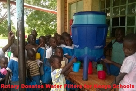 Rock Island Rotary Provides Safe Water to Children in Kenya