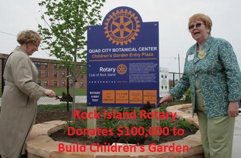 Donation for Garden
